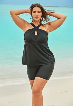 Crossover Tankini Top,