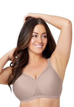 Glamorise® Soft Shoulders T-Shirt Bra,
