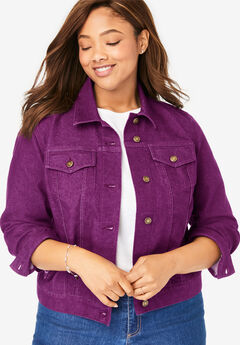 b73e78eb4594 Plus Size Denim Jackets for Women | Full Beauty