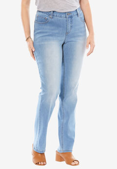 Curvy Straight Leg Slimmer Jean,