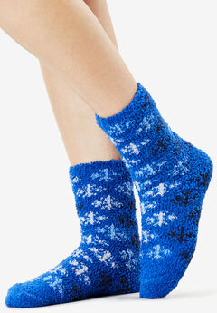 2-Pack Fuzzy Socks by Comfort Choice®,