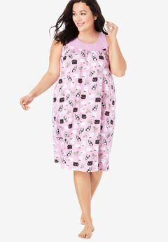 Sleeveless Cotton Sleepshirt by Dreams & Co.®,