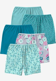5-Pack Cotton Boxer by Comfort Choice®, VINE PACK