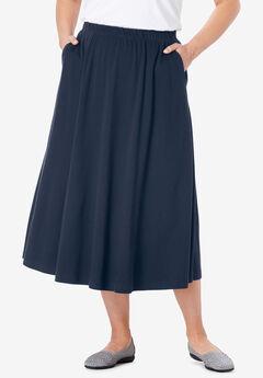 7b670e765413 7-Day Knit A-Line Skirt