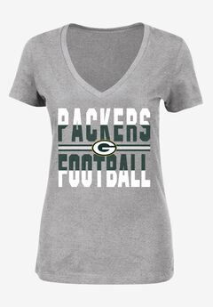 Classic V-Neck Short Sleeve NFL® Tee, PACKERS