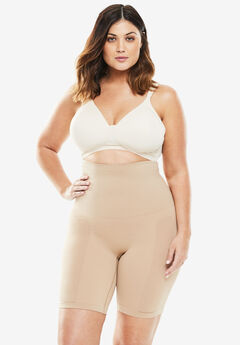 76a66715d42 Seamless Long-Leg Shaper by Secret Solutions® Curvewear