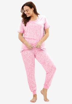 Knit Jogger PJ Set by Dreams & Co.®,