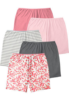 5-Pack Cotton Boxer by Comfort Choice®, ROSE HEART PACK