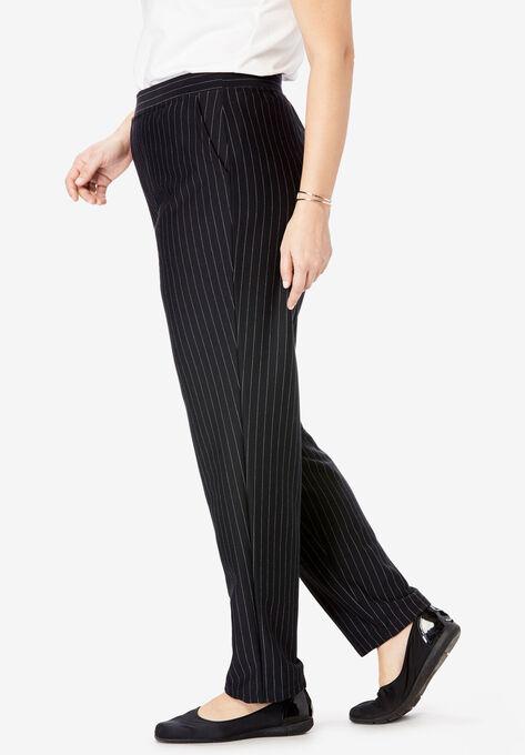 d81652aeff4 Straight Leg Ponte Knit Pant