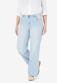 Wide Leg Stretch Jean,