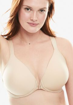 Leading Lady® Brigitte Racerback Front-Close Seamless Underwire Bra #5415, NUDE
