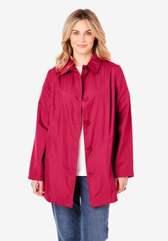 Packable Trench Raincoat,