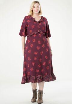 c23eb79497b4 Ruffled Maxi Dress by Chelsea Studio®