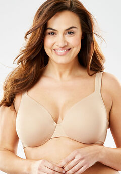 Cotton Underwire T-Shirt Bra by Comfort Choice®, NUDE