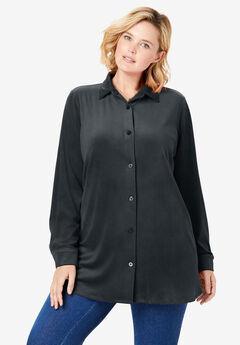 Velour Shirt,