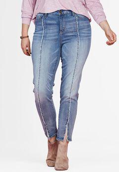 Slit Front Skinny Jean by Chelsea Studio®,