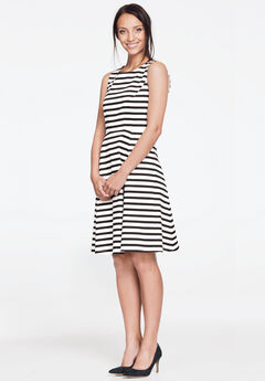 Sleeveless fit & flare dress by Ellos®,