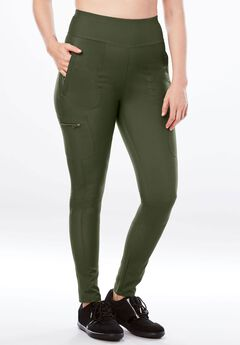 Stretch Cargo Legging,