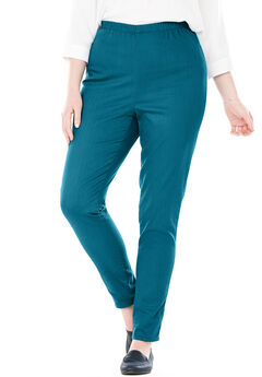 Fineline Denim Jegging, BLUE TEAL