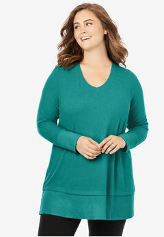 Cozy V-Neck Tunic,