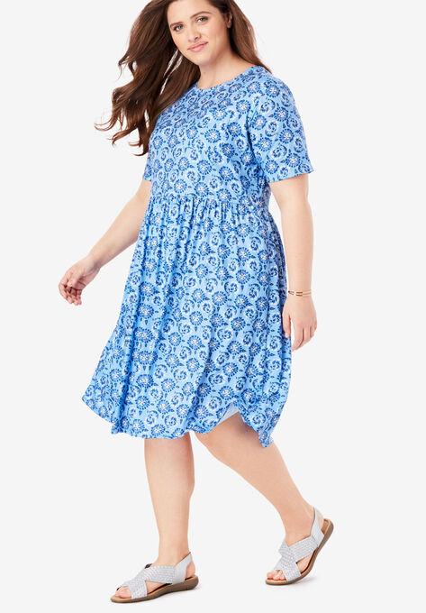 8ede32bb07d Flounce Tee Dress