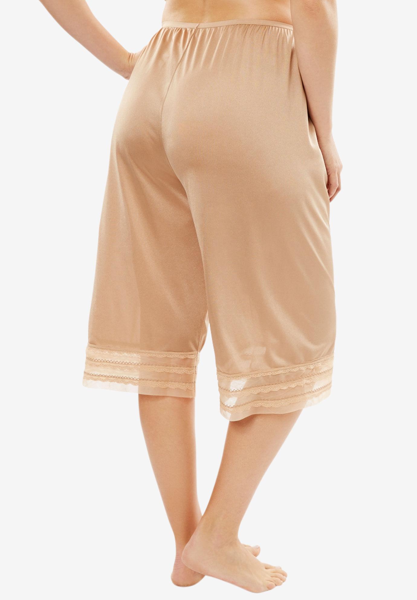 Comfort Choice Womens Plus Size 6-Panel Half Slip