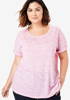 a02a884c13 Plus Size Short Sleeve Tops & T-Shirts for Women | Full Beauty