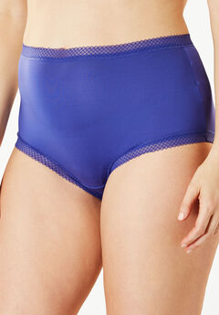 2-Pack Cooling Full-Cut Brief by Comfort Choice®, AQUA SAPPHIRE PACK
