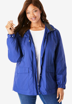 Fleece-Lined Taslon® Jacket,