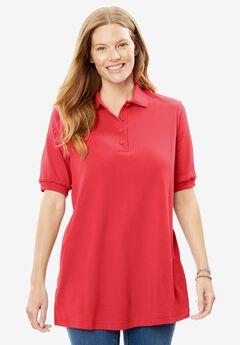 Short Sleeve Polo Tee,