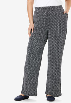 Simply Special Knit Wide Leg Pant,