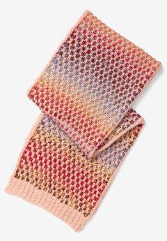 Multicolor Knit Scarf,