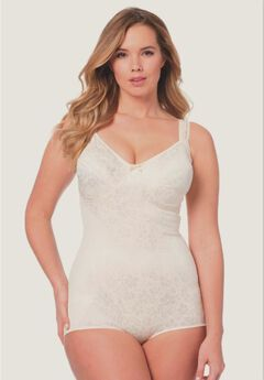 Printed Soft Cup Comfort Body Briefer by Rago,