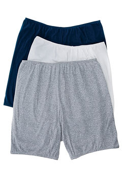 3-Pack Cotton Bloomer by Comfort Choice®, BASIC PACK