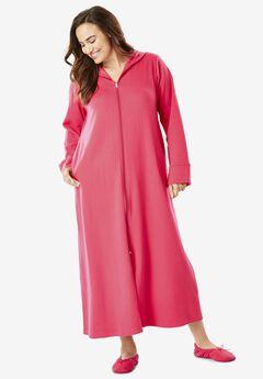 Hooded Fleece Robe by Dreams & Co.®,
