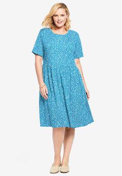Empire Waist Tee Dress,