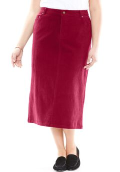 Corduroy Skirt,