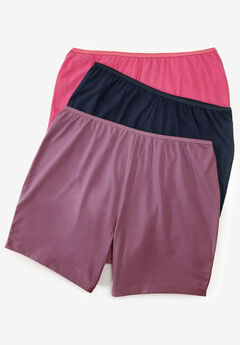 3-Pack Cotton Boxer by Comfort Choice®, ORCHID NAVY PACK