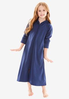 Hooded Fleece Girl's Robe by Dreams & Co.®,