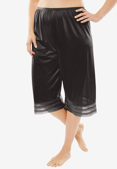 Snip-To-Fit Culotte by Comfort Choice®, BLACK