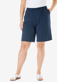Jersey Knit Short, NAVY