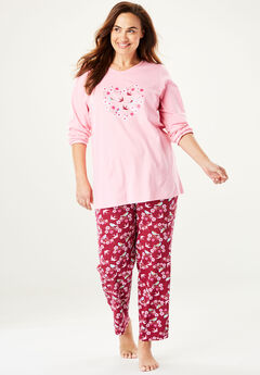 Novelty PJ Set by Dreams & Co.®, POMEGRANATE BIRD