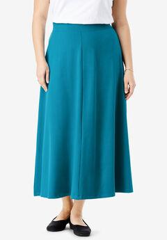 EveryWear Essential A-Line Maxi Skirt,