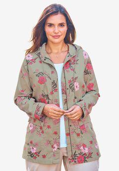 Lightweight Hooded Jacket,
