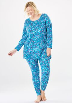 Supersoft Thermal Legging PJ Set by Dreams & Co.®,
