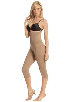 Julie France by Euroskins Capri Legging High Waist Shaper Girdle,