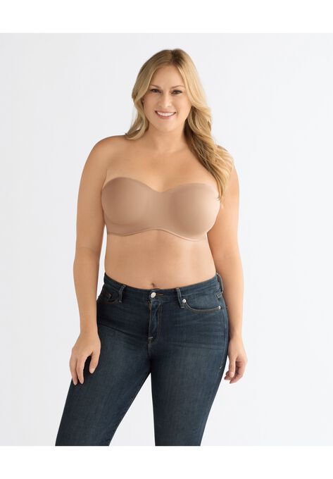 Barbara Strapless Underwire Bra   Swimsuits For All