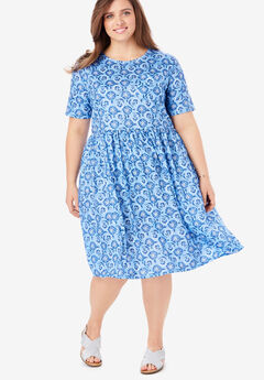 Flounce Tee Dress,