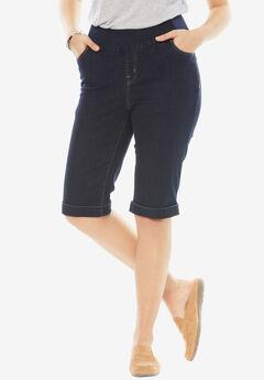 Smooth Waist Bermuda Jean Short,