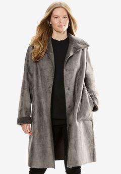 Reversible Faux Sherpa Coat,